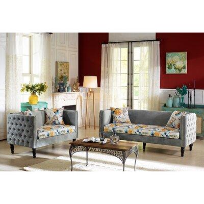 Athena Sofa and Loveseat Set