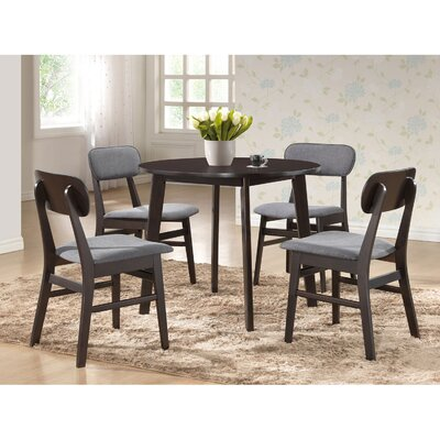 Alcorn 5 Piece Dining Set