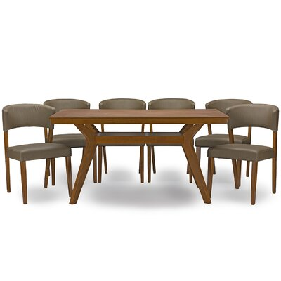 Saginaw 7 Piece Dining Set