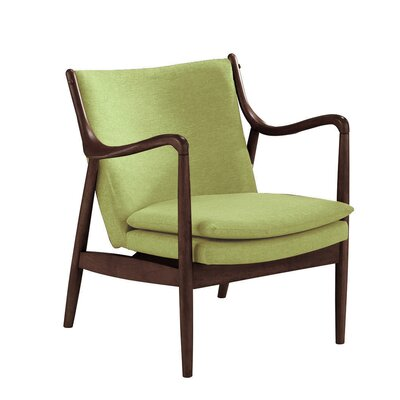 Waugh Armchair Color: Green