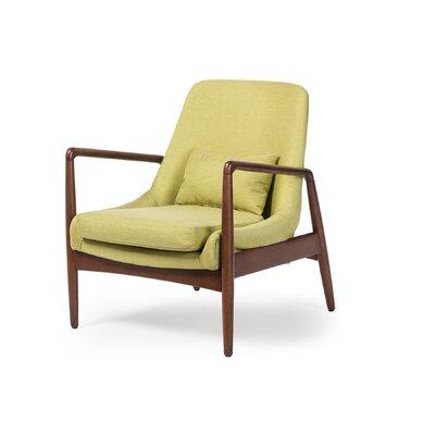 Ayleen Armchair Upholstery: Green