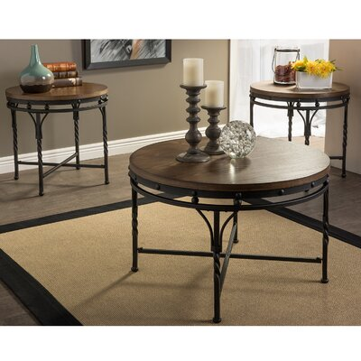 Nikanor 3 Piece Coffee Table Set