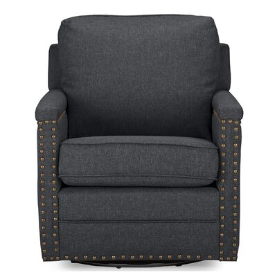 Alberto Classic Retro Upholstered Armchair Upholstery Color: Gray