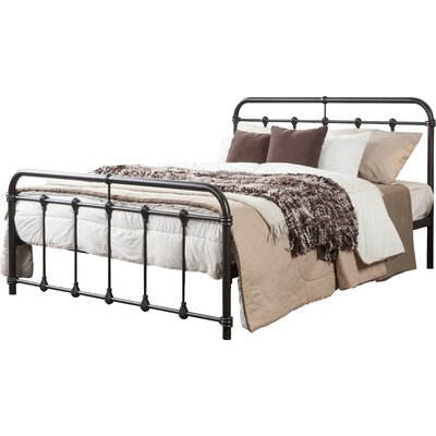 Orchard Lane Platform Bed Size: Full, Color: Black