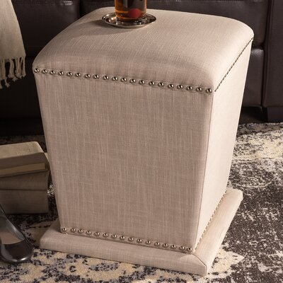 Mcavoy Ottoman Upholstery: Beige