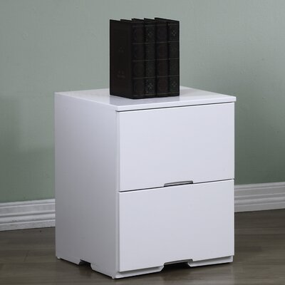 Smethwick 2 Drawer Nightstand