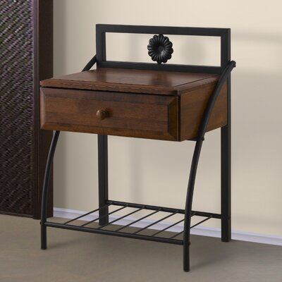 Icarus 1 Drawer Nightstand