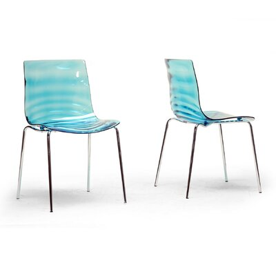 Volans Side Chair Finish: Blue