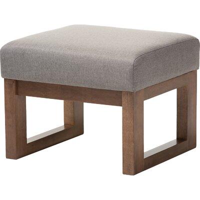 Eli Ottoman Upholstery: Grey
