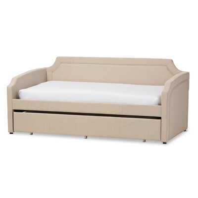 Marnie Daybed with Trundle Finish: Beige LATR7722 34451568