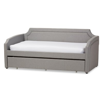 Marnie Daybed with Trundle Finish: Gray