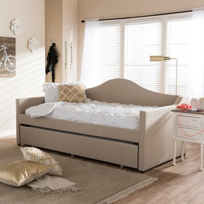 Fabian Daybed with Trundle Finish: Beige
