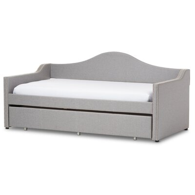 Alcaraz Daybed with Trundle Finish: Grey