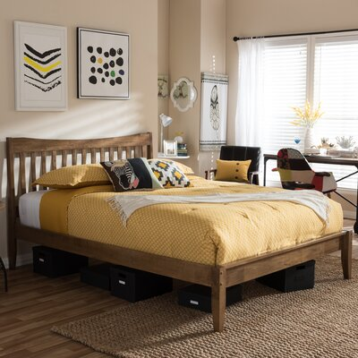 Isan Platform Bed Size: Queen