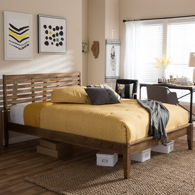 Daria Platform Bed Size: Queen