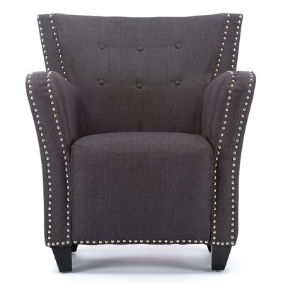 Lower Vobster Contemporary French Accent Barrel Chair