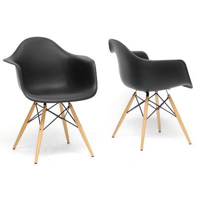 Tabiauea Arm Chair Finish: Black