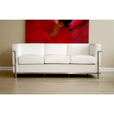Tensho-Kan Le Corbusier Petite Leather Sofa