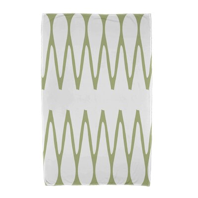 Zipped Beach Towel Color: Green