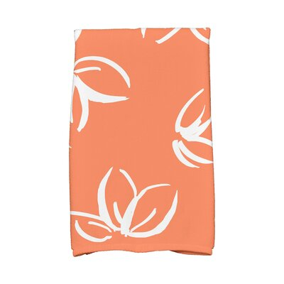 Hand Towel Color: Orange