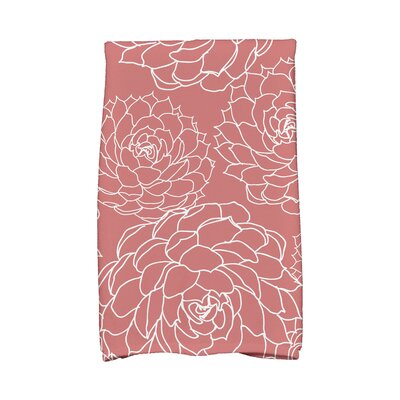 Hand Towel Color: Orange/Coral