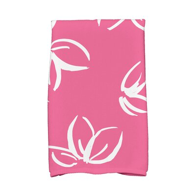 Hand Towel Color: Pink