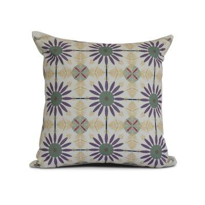 Rosalinda Throw Pillow Size: 16 H x 16 W x 3 D, Color: Green