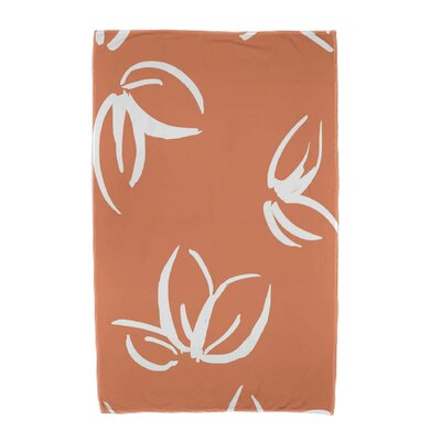 Beach Towel Color: Orange