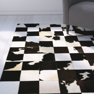 Merle Dark Brown/Charcoal Area Rug
