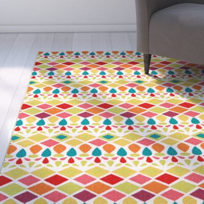 Keri Green Area Rug Rug Size: Rectangle 76 x 10