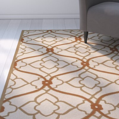 Grant Beige/Mocha Indoor/Outdoor Area Rug Rug Size: Runner 26 x 8