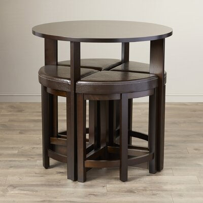 Earleville 5 Piece Dining Table Set