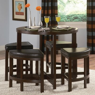 Jane 5 Piece Counter Height Dining Set