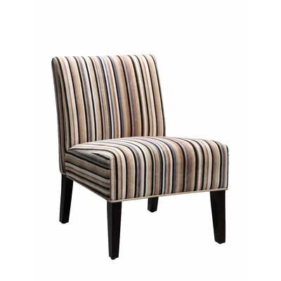 Boon Chair Upholstery Color: Classic Muli Colored Stripe