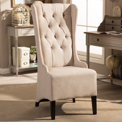 Colegrove Skirted Wingback Chair