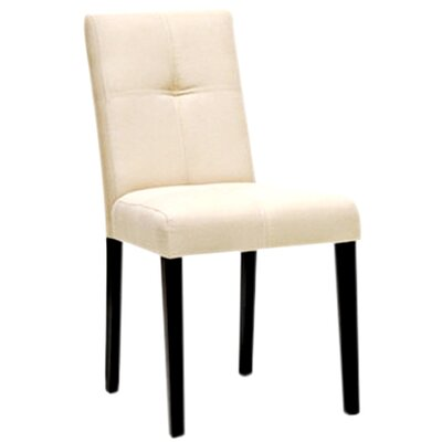 Calla Upholstered Dining Chair Upholstery: Beige