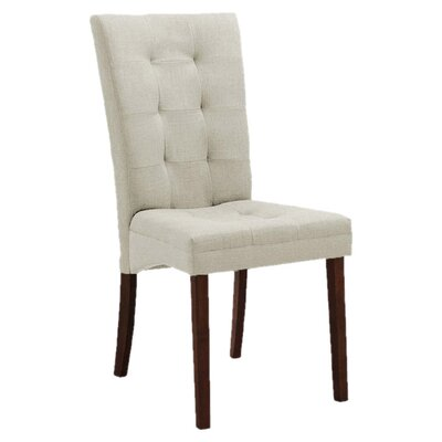 Calla Side Chair Upholstery: Beige