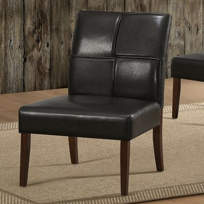 Australe Side Chair Color: Dark Brown