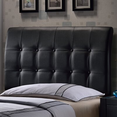 Balam Upholstered Panel Headboard Size: King