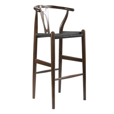Whitford 28.5 Bar Stool Finish: Dark Brown / Black