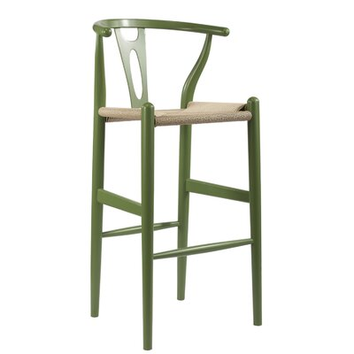 Whitford 28.5 Bar Stool Finish: Green