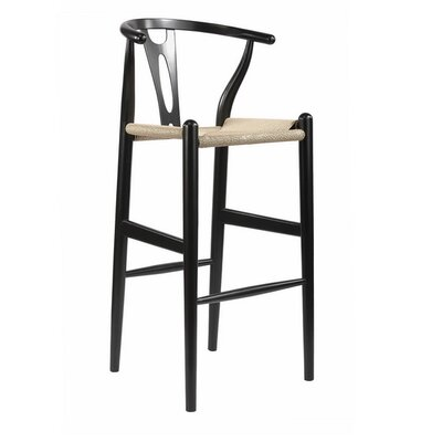 Whitford 28.5 Bar Stool Finish: Black