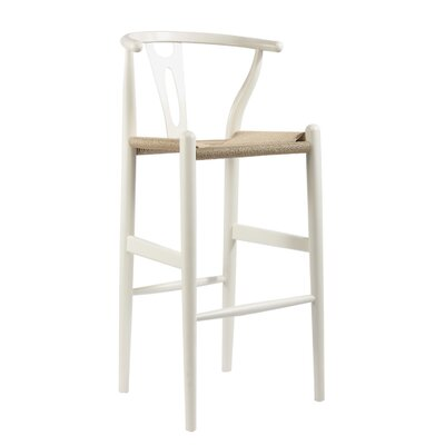 Whitford 28.5 Bar Stool Finish: White