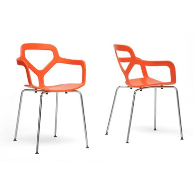 Calla Arm Chair Finish: Orange