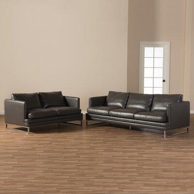 Bradley Leather Sofa Set