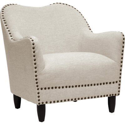 Keefer Armchair Upholstery Color: Beige
