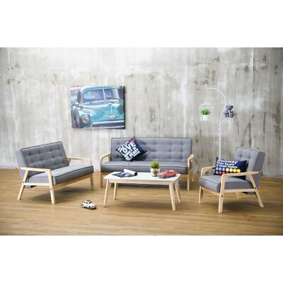 Calla 3 Piece Living Room Set