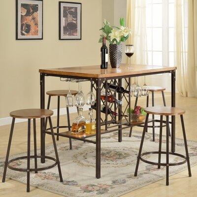 Bradley 5-Piece Pub Table Set