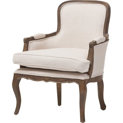 Calla Traditional French Armchair Finish: Ash
