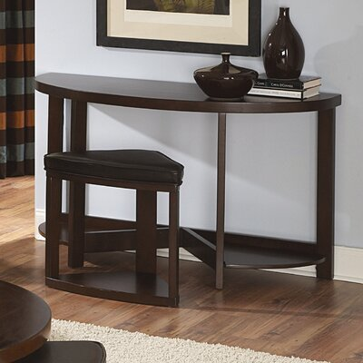 Jane Console Table with Ottoman